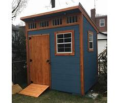 How to make small storage shed Video