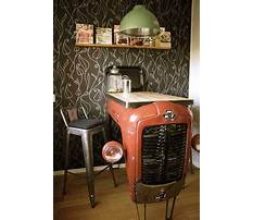 How to make vintage industrial furniture Video