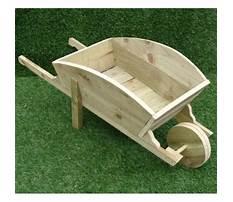 How to make wooden garden wheelbarrow Video