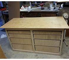How to make workshop drawers Video