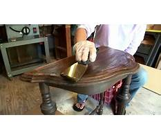 How to refinish furniture youtube Video