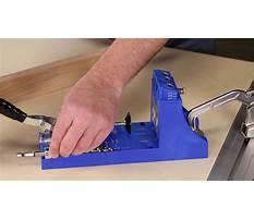 How to set up the kreg pocket hole jig Video