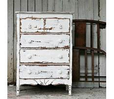 How to shabby chic furniture Video