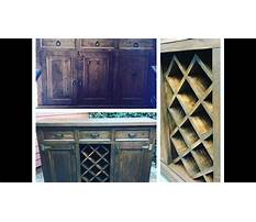 How to transform a dresser into a buffet with a wine rack by chic doctor Video