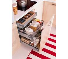 Ideas for organizing kitchen drawers Video