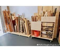 Ideas for storing scrap wood Video