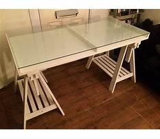 Ikea trestle tables Video