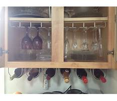 Ikea wine shelves Video