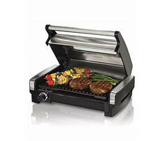 In stock hamiton beach 25361 indoor grill Video
