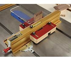 Incra bandsaw jig Video