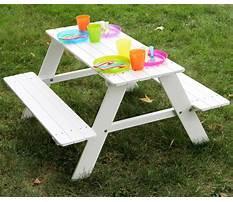 Indoor kids picnic table Video
