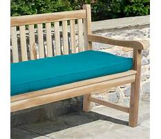Indoor wood benches with cushion Video