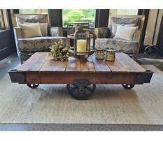 Industrial cart coffee table diy.aspx Video