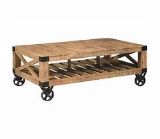 Industrial cart coffee tables on clearance Video