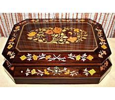 Inlaid wood jewelry box sorrento Video