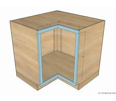Instructions for building a corner cabinet Video