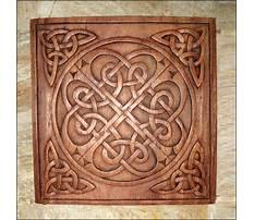 Irish wood carving patterns Video