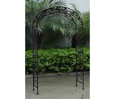 Iron garden archway Video
