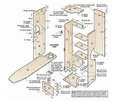 Ironing board cabinet plans free Video