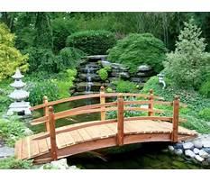 Japanese wooden bridge plans Video