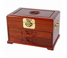 Jewelry box furniture piece Video