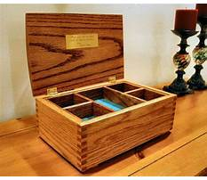 Jewelry wooden box plans Video