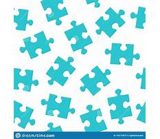 Jigsaw puzzle pattern vector Video