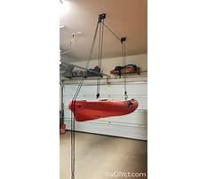 Kayak hoist garage diy.aspx Video