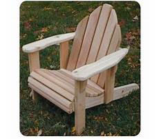 Kid size adirondack chair plans Video