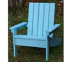 Kids adirondack chair plans ana white Video