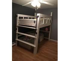 Kids low loft bed plans Video