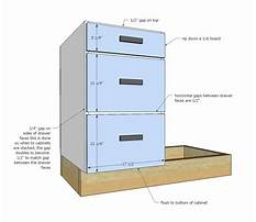 Kitchen cabinet drawer plans Video