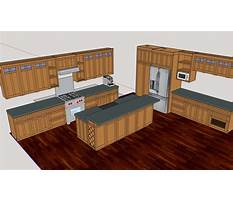 Kitchen cabinet plans sketchup Video