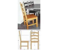Kitchen chair build Video