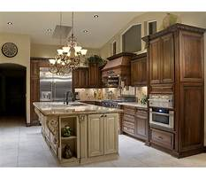 Kitchen island cabinets on both sides Video