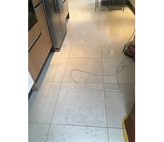 Kitchen tile flooring cleaned Video