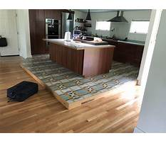 Kitchen tile flooring replacement Video