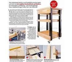 Kitchen utility cart plans Video