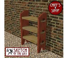 Knock down chair plans Video