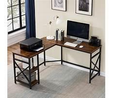 L shaped computer desks for home Video