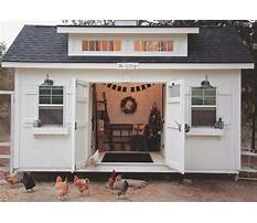Large fancy chicken coops Video
