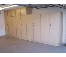 Large garage wall cabinets Video