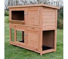 Large rabbit hutch and run uk Video