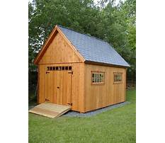 Large wooden barn plans Video
