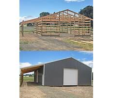 Lean to pole barn plans.aspx Video