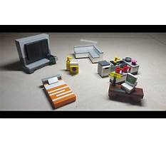 Lego how to build furniture Video