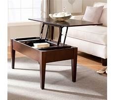 Lift up coffee table dining table Video