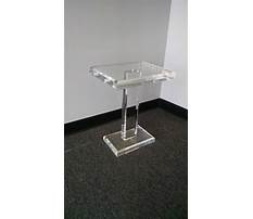 Living room with lucite end tables Video