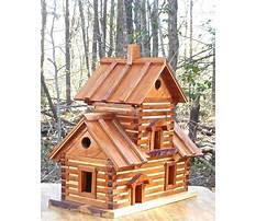 Log cabin birdhouse for sale Video