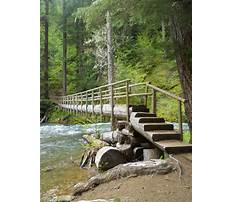 Log footbridge plans Video